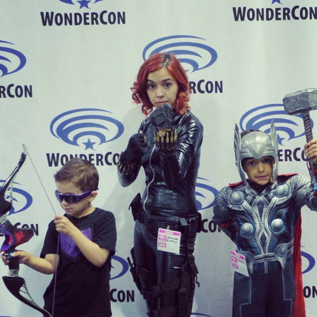 Whitney & the Mini-Vengers at Wondercon 2015