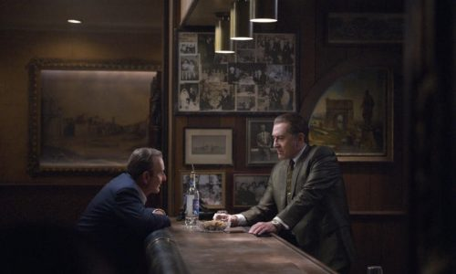 Joe Pesci and Robert DeNiro in The Irishman