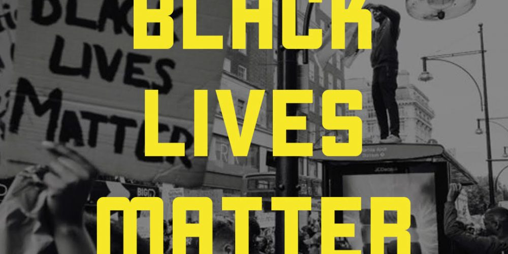 Black lives matter - from blacklivesmatter.com